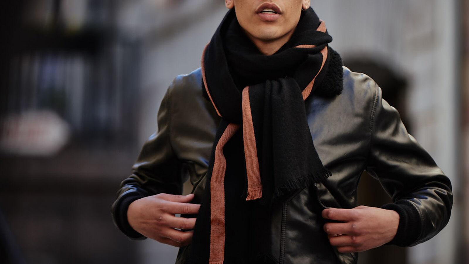 风格: 围巾的多种系法
