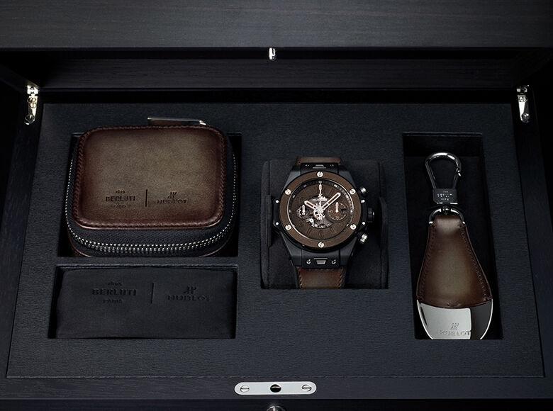 全新产品: HUBLOT宇舶表携手BERLUTI发布全新BIG BANG UNICO冰棕色腕表
