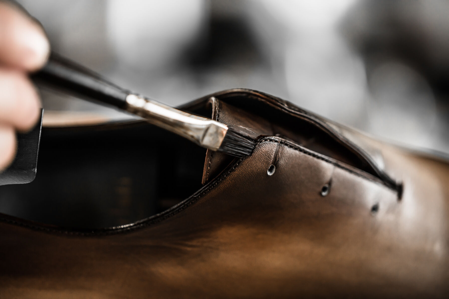: When should you bring in shoes for their first patina?