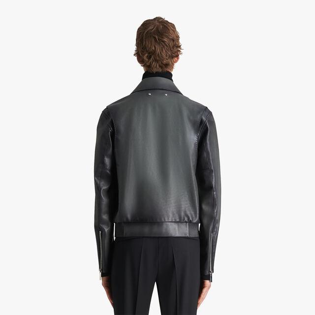 转色皮革外套, NERO GRIGIO, hi-res