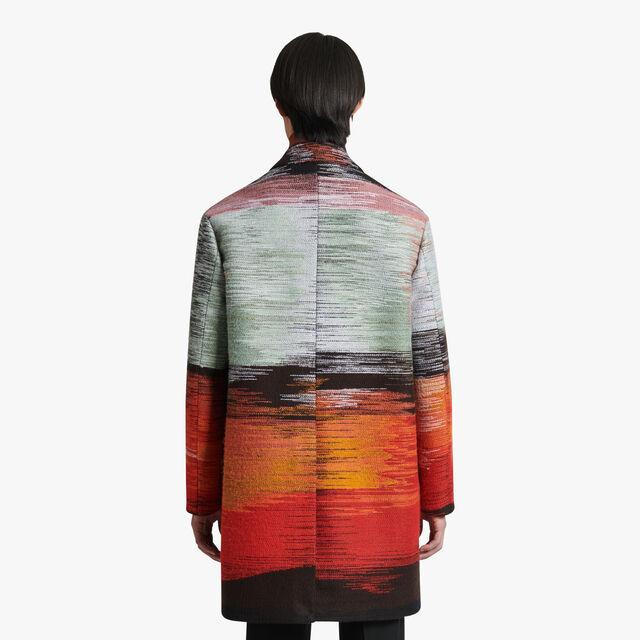 Lev Khesin刺绣大衣, NOIR, hi-res