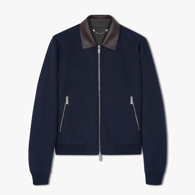 有转色领的双面外套, COLD NIGHT BLUE / ANTHRACITE, hi-res