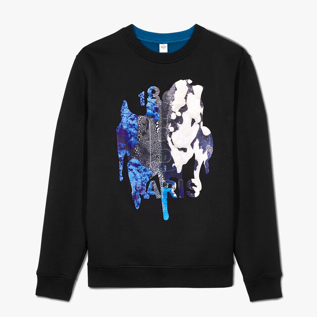 Brian Rochefort Sweatshirt With Printed Embroidery