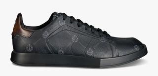 Signature 帆布镶皮革Stellar运动鞋
