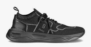 带有皮革细节的Shadow针织款运动鞋
