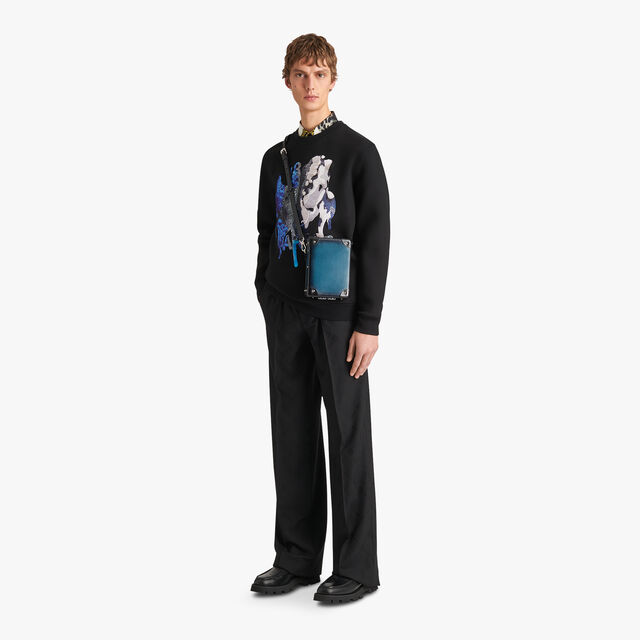绣有印花的Brian Rochefort运动衫