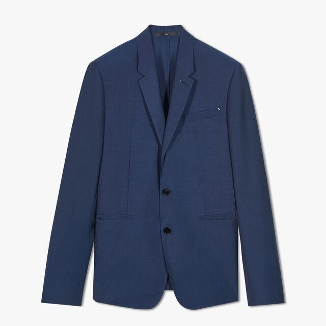 无衬里羊毛夹克, SPACE BLUE, hi-res
