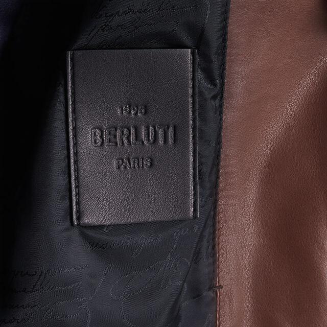 转色皮革B-way外套, EBANO, hi-res