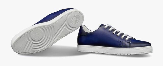 Playtime Scritto图纹皮革运动鞋, UTOPIA BLUE, hi-res