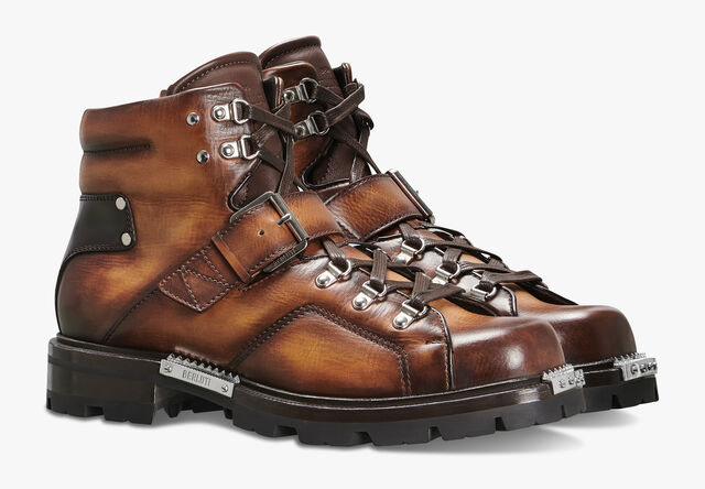 Brunico 小牛皮靴子, ICE GOLD, hi-res