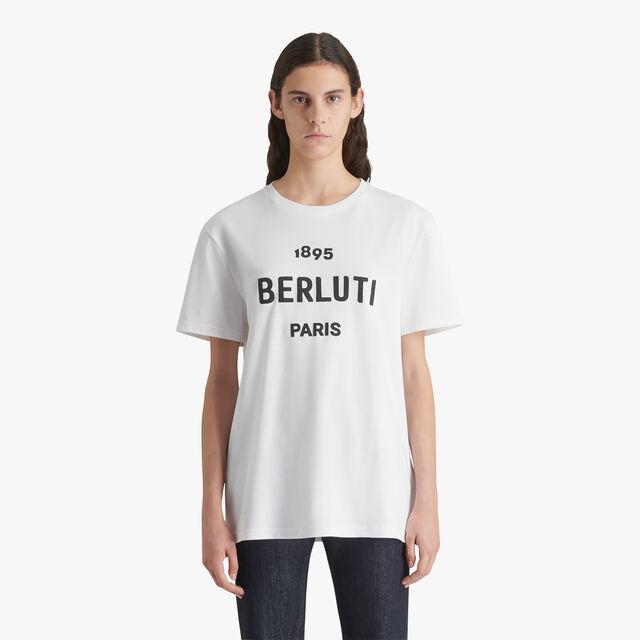 棉质Logo衫, BLANC OPTIQUE, hi-res