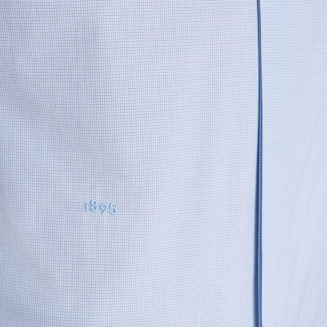 正装修身棉衬衫, ZENITH BLUE, hi-res