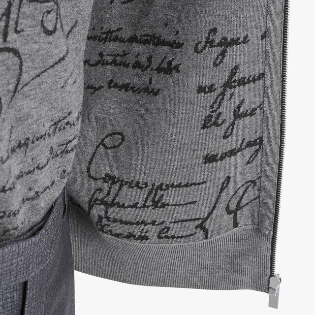 轻质羊毛双面连帽衫, PEWTER GREY, hi-res